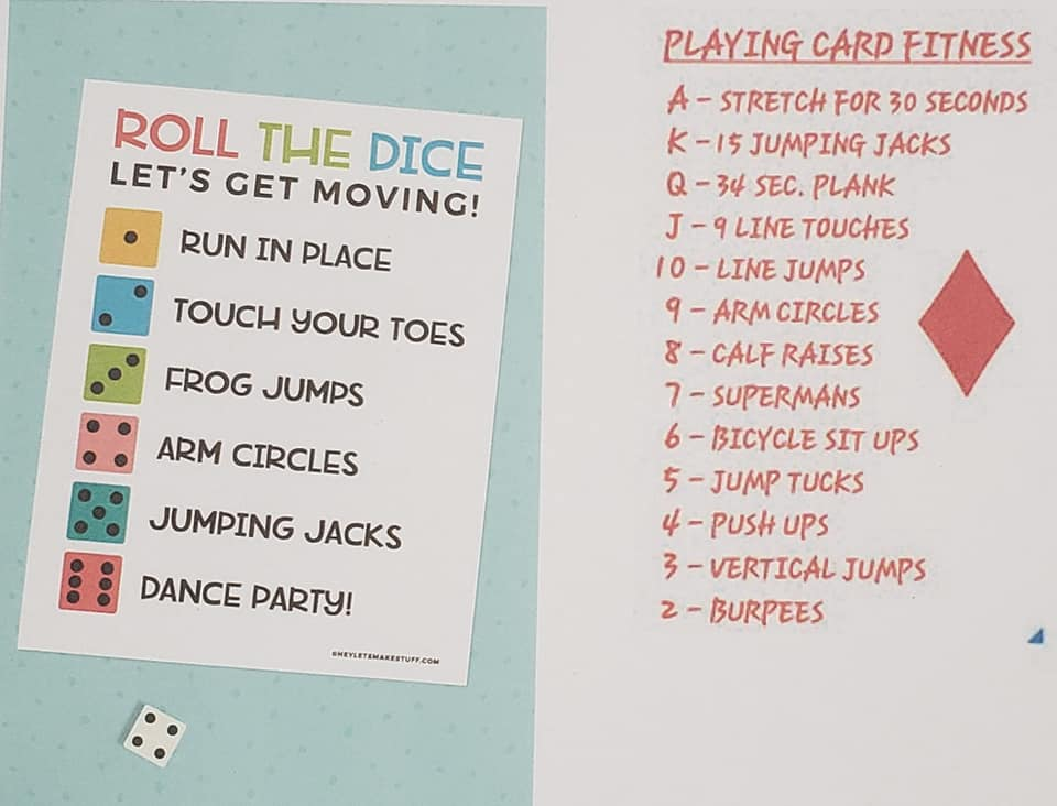 Week Six  Card and Dice games