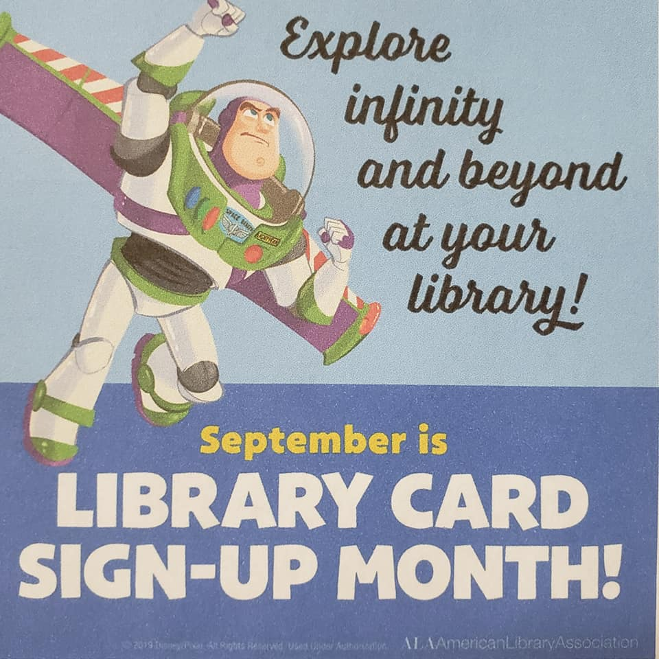 Library Card Month Stop in and get your FREE Library Card Good at any Selco Library